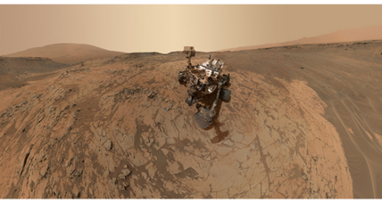 Curiosity Mars rover completes third year on Red Planet