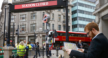 London's Tube strike causes a day of disruption for many commuters