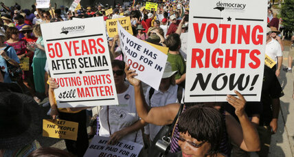 Obama to call for restoration of Voting Rights Act on its 50th anniversary