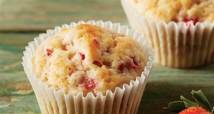 Double Strawberry Muffins