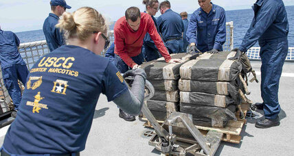 Coast Guard makes record $181 million cocaine haul from another 'narco-sub'