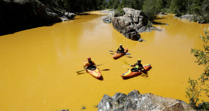 Environmental workers spill one million gallons of waste into Colorado river