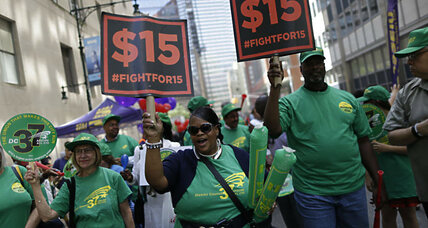 How can cities successfully enforce a higher minimum wage?