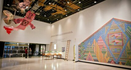 Nonprofit group fills empty New York spaces with art