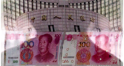 What does a cheaper yuan do for the global economy?