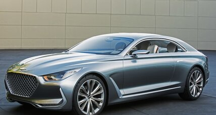 Hyundai Vision G concept coupe brings space, luxury