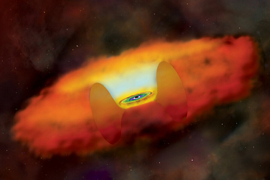 How can a supermassive black hole be so teeny?