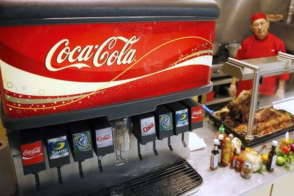 soda machine target