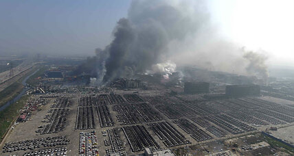 Massive China warehouse explosions: At least 50 killed