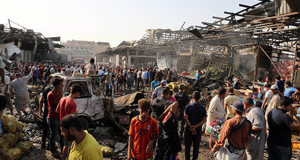 Over 60 killed as IS detonates truck bomb in Baghdad market