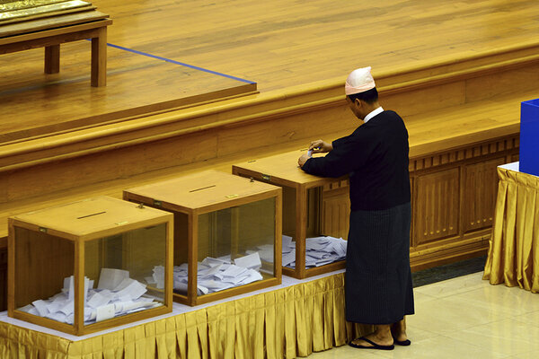Party leader ousted in Myanmar power struggle. A return to ...