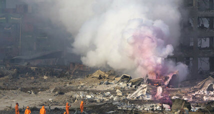 What caused the Tianjin blasts? China authorities hunt for clues.