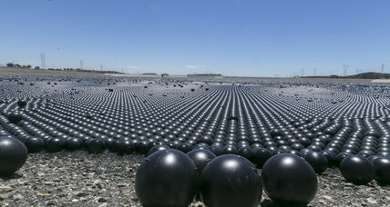 New Los Angeles drought-fighting tool: millions of plastic balls