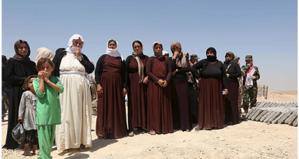 ISIS uses theology to justify rape, enslavement of Yazidi women