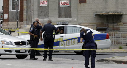 Three dead in Baltimore, as city contends with homicide spike