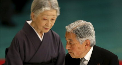 Japan's emperor – unlike Prime Minister Abe – apologizes for WWII