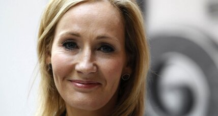 What did JK Rowling tell two aspiring authors on Twitter?