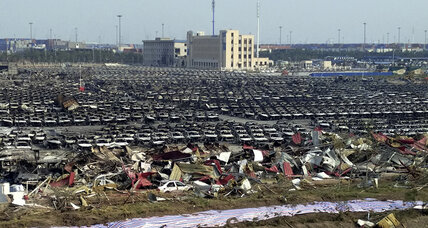 After Tianjin blasts, China orders nationwide safety check