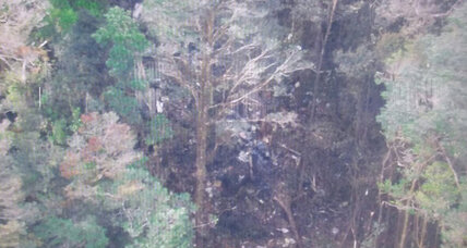 Indonesian plane crash wreckage spotted