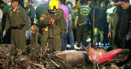Over a dozen killed in Bangkok blast, police say (+video)