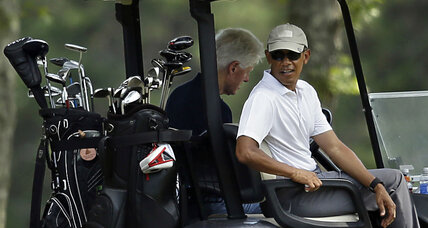 Obama vs. Trump: Who would win on the golf course? (+video)