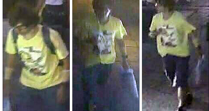 Thai police hunt Bangkok bombing suspect spotted on CCTV video