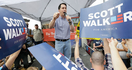 Scott Walker immigration flip shows how Trump is reshaping 2016 race