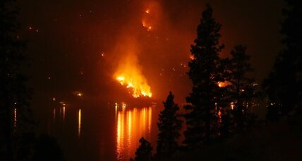 Large wildfires out West drain firefighting resources