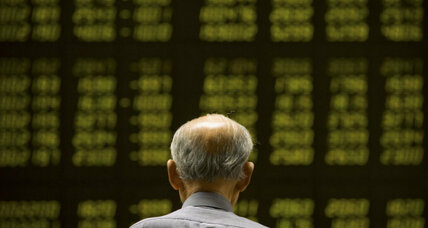 Asian shares drop amid concerns over Chinese economy