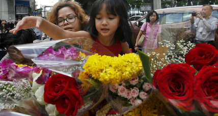 Thai police: Bangkok shrine bomber likely had accomplices