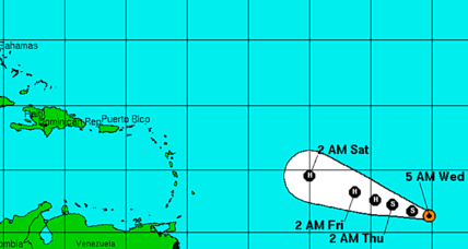 Tropical Storm Danny could be a hurricane by Thursday
