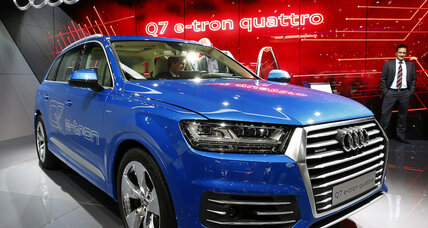 Audi Q6 e-tron takes on Tesla Model X ahead of Frankfurt auto show