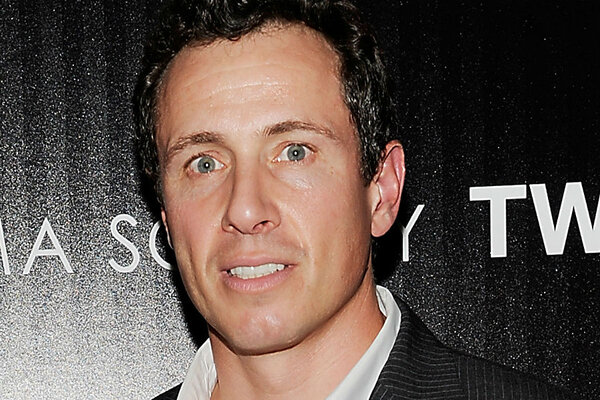 CNN broadcaster Chris Cuomo (seen here in 2012) is being credited with  helping rescue a man who had been swept away by a riptide in the Hamptons  near ...