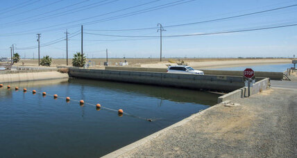 California drought runs Central Valley towns into the ground ... literally
