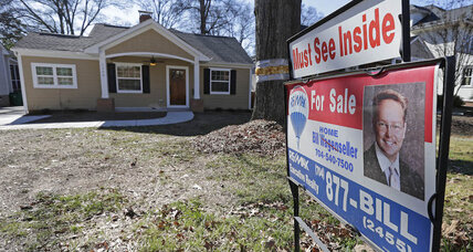 US existing home sales hit 8-year high, but first-time buyers squeezed out