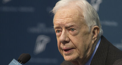 Former president Carter 'ready' to take on latest personal challenge