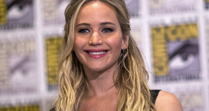 Why does Jennifer Lawrence earn less than male Hollywood stars?