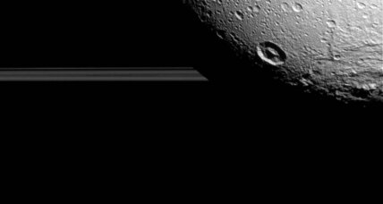 Marvelous moon: See Cassini's detailed portraits of Saturn's Dione