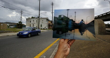 New Orleans rises a decade after Katrina, with a changed face