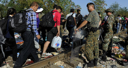 Tension peaks in Italy and Macedonia over migrant crisis: Who is helping?