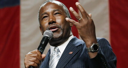 GOP candidate Carson advocates drones to strike smuggling caves