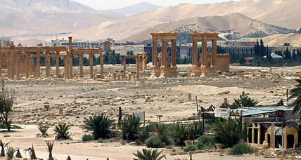 ISIS blows up temple in Palmyra, say activists