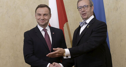 More NATO troops in Eastern Europe? New Polish president says yes, please.
