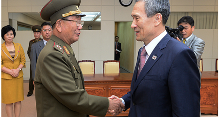 Surprise apology by North Korea as historic talks end fruitfully (+video)