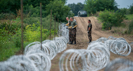 Influx of migrants prompts tougher Hungarian border security