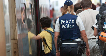 Why doesn't Europe impose airline-level security on its trains?
