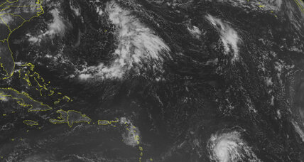 As Danny sputters out, tropical storm Erika gathers steam (+video)