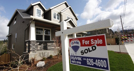 New home sales bounce back 5.4 percent in July