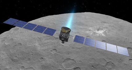 NASA's Dawn spacecraft takes remarkable pictures of dwarf planet Ceres