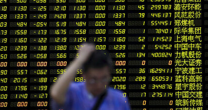 From stock market tumble, a more realistic view of China's economy (+video)